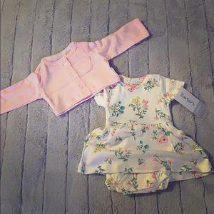 Beautiful newborn girls outfit!
